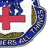 366th Infantry Regiment Patch Labor Conquers All Things | Lower Right Quadrant