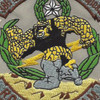 366th Explosive Ordnance Disposal Patch | Center Detail