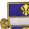 365th Infantry Regiment Patch | Upper Left Quadrant