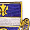 365th Infantry Regiment Patch | Upper Right Quadrant