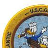 USS Pettit DE-253 USCG WWII Patch | Upper Left Quadrant
