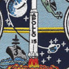 USS Okinawa LPH-3 Apollo 15 Patch | Center Detail