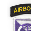 360th Civil Affair Airborne Brigade Patch | Upper Left Quadrant
