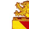 35th Field Artillery Regiment Patch | Upper Left Quadrant