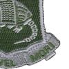 35th Armor Regiment Patch   Lower Right Quadrant