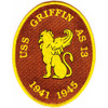 USS Griffin AS-13 Patch - Version B