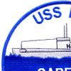 USS Garfish SS-30 H-3 Submarin Patch   Upper Left Quadrant