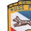 USS Fox CG-33 Patch | Upper Left Quadrant