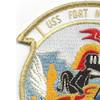 USS Fort Mandan LSD-21 Dock Landing Ship Patch   Upper Left Quadrant