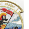 USS Fort Mandan LSD-21 Dock Landing Ship Patch   Upper Right Quadrant