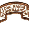 74th LRS Infantry Desert Patch | Center Detail