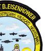 USS Dwight D. Eisenhower CVN-69 Cruise 4-91 Patch   Upper Right Quadrant