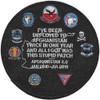 USS Dwight D. Eisenhower CVN-69 Afghanistan 2.0 Patch