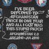 USS Dwight D. Eisenhower CVN-69 Afghanistan 2.0 Patch | Center Detail