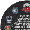 USS Dwight D. Eisenhower CVN-69 Afghanistan 2.0 Patch | Upper Left Quadrant