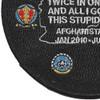 USS Dwight D. Eisenhower CVN-69 Afghanistan 2.0 Patch | Lower Left Quadrant