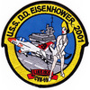 USS Dwight D Eisenhower CVN-69 2001 Patch