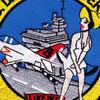 USS Dwight D Eisenhower CVN-69 2001 Patch | Center Detail