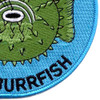 USS Burrfish SS-312 Diesel Electric Submarine Small Patch | Lower Right Quadrant