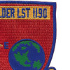 USS Boulder LST-1190 Patch | Upper Right Quadrant