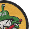 USS Bonefish SS 582 Diesel Electric Submarine Small Patch | Upper Right Quadrant