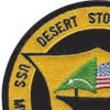 USS Midway CV-41 Desert Storm-91 Patch | Upper Left Quadrant