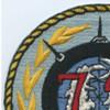 72nd Mine Division Patch   Upper Left Quadrant