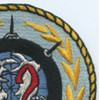 72nd Mine Division Patch   Upper Right Quadrant