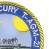 USS Mercury T-AGM-21 Missile Range Instrumentation Ship Patch | Upper Right Quadrant