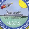 USS Mercury T-AGM-21 Missile Range Instrumentation Ship Patch | Center Detail