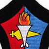 USS MarsT AFS-1 Combat Stores Ship Patch   Center Detail