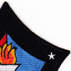 USS MarsT AFS-1 Combat Stores Ship Patch   Upper Right Quadrant