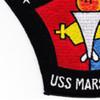 USS MarsT AFS-1 Combat Stores Ship Patch   Lower Left Quadrant