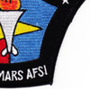 USS MarsT AFS-1 Combat Stores Ship Patch   Lower Right Quadrant
