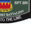 725th Support Battalion Military Occupational Specialty Rating MOS Patch | Lower Right Quadrant
