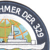 USS Kretchmer DER-329 Patch   Upper Right Quadrant