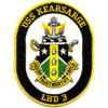 USS Kearsarge LHD-3 Amphibious Assault Ship Patch