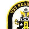 USS Kearsarge LHD-3 Amphibious Assault Ship Patch   Upper Left Quadrant