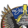 USS John Warner SSN-785 Nuclear Fast Attack Submarine Second Version Patch   Upper Left Quadrant