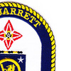 USS Jarrett FFG-33 Guided Missile Frigate Ship Patch | Upper Right Quadrant
