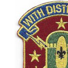 71st Ordnance Group Patch With Distinction And Valor | Upper Left Quadrant