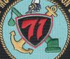 71st Mobile Construction Battalion Patch