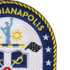 USS Indianapolis LCS-17 Patch   Upper Right Quadrant