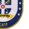 USS Indianapolis LCS-17 Patch   Lower Right Quadrant