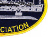 USS Holland AS-32 Association Patch | Lower Right Quadrant