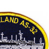USS Holland AS-32 Association Patch | Upper Right Quadrant