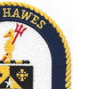 USS Hawes FFG-53 Frigate Ship Patch   Upper Right Quadrant