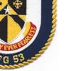 USS Hawes FFG-53 Frigate Ship Patch   Lower Right Quadrant