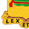 716th Military Police Battalion Patch | Lower Left Quadrant