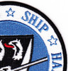 USS Halsey CG-23 Patch   Upper Right Quadrant